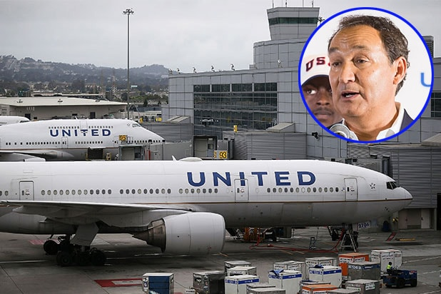 United and Oscar Munoz