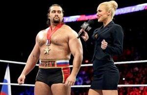 WWE Lana and Rusev