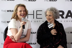Elisabeth Moss, Margaret Atwood, Power Women Breakfast
