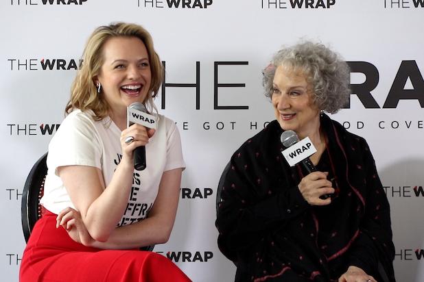 Elisabeth Moss, Margaret Atwood, Power Women Breakfast