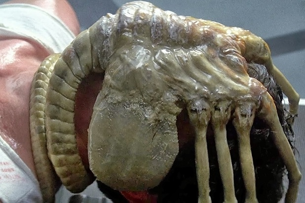 alien franchise every alien ranked alien facehugger