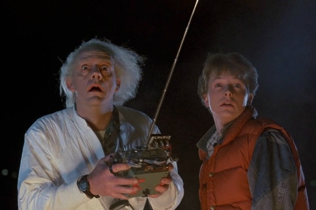 back to the future movies sequels games universal marty mcfly michael j fox doc brown christopher lloyd