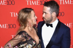 Blake Lively Ryan Reynolds Time 100