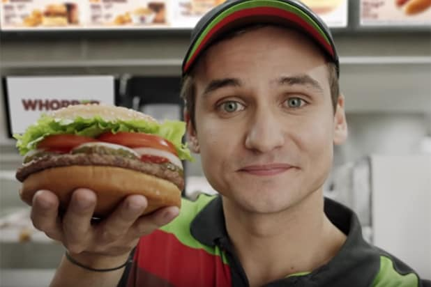 Burger King Google ad