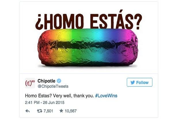 chipotle homo estas woke ad campaigns