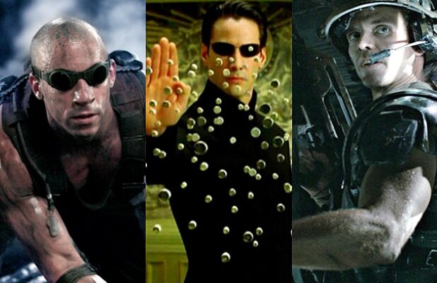 chronicles of riddick matrix reloaded aliens movies video games sequels split