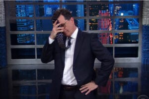colbert trump treehouse 7 dirty words fcc