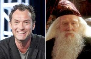 dumbledore jude law richard harris fantastic beasts