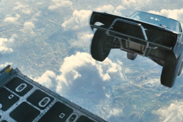 fast and furious trivia facts furious 7 car skydiving