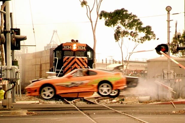 fast and the furious train scene two shots