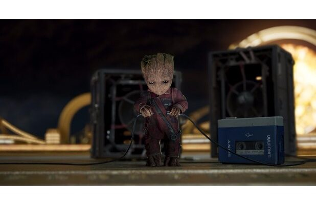 guardians of the galaxy vol 2 hi res screenshots baby groot vin diesel
