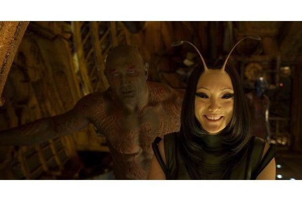 guardians of the galaxy vol 2 hi res screenshots dave bautista drax mantis Pom Klementieff 5