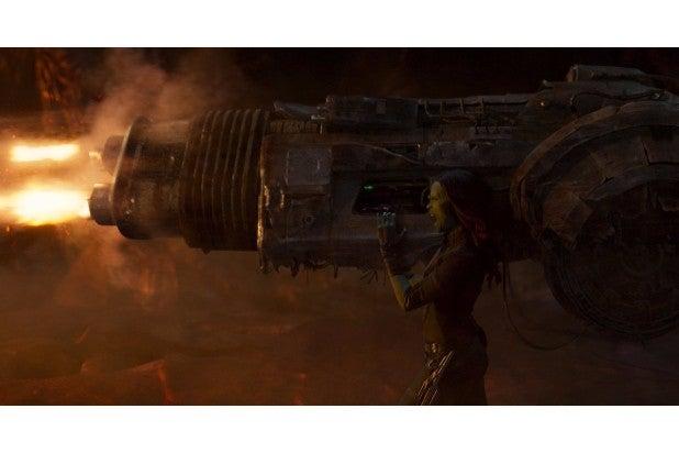 guardians of the galaxy vol 2 hi res screenshots gamora zoe saldana