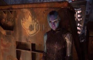 guardians of the galaxy vol 2 hi res screenshots karen gillan nebula spin-off