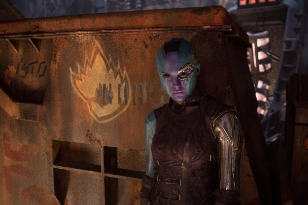 guardians of the galaxy vol 2 hi res screenshots karen gillan nebula spin-off