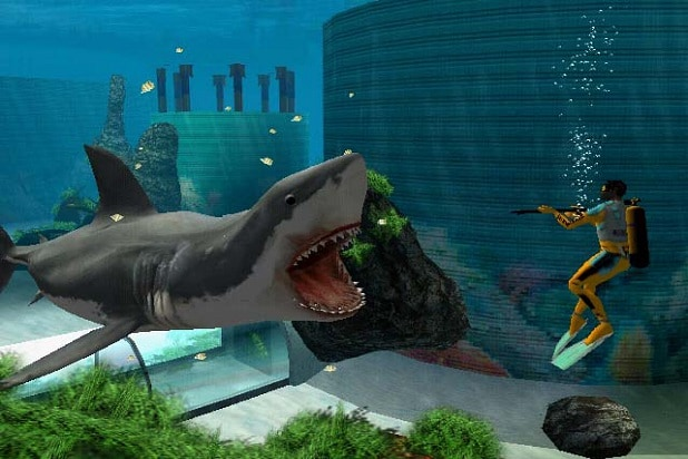 jaws unleashed movies sequels video games