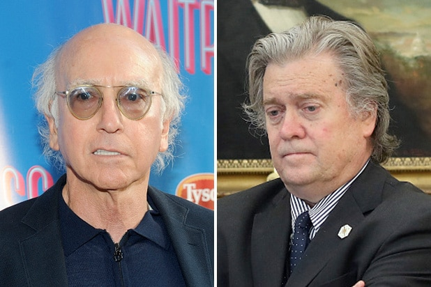 larry david steve bannon