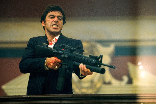 scarface tony montana 1983 al pacino movies video games sequels