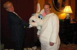 sean spicer easter bunny