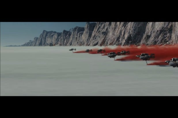star war the last jedi teaser photos desert ships