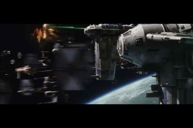 star war the last jedi teaser photos resistance first order space battle