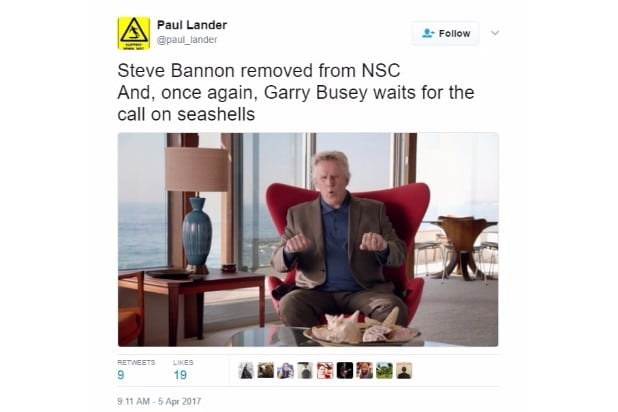 steve bannon nsc reaction paul lander