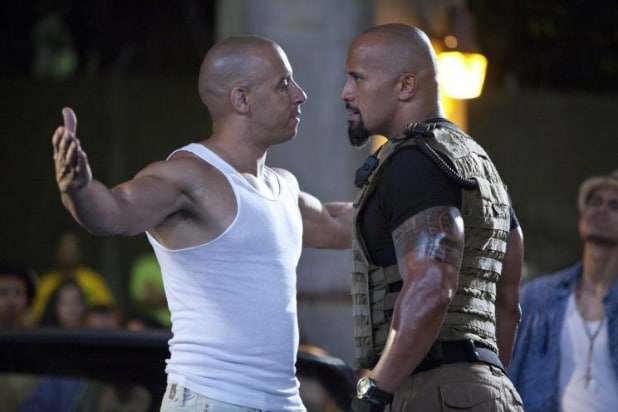 the rock vin diesel fate of the furious feud