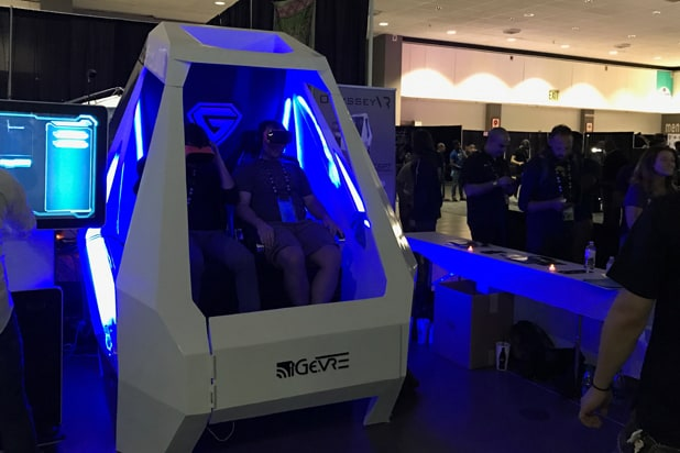 VRLA virtual reality