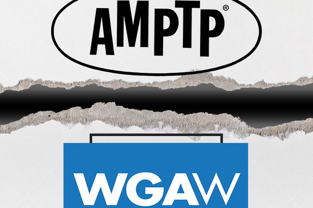 WGA Members Gather as Strike Authorization Vote Begins