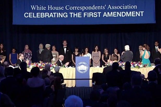 white house correspondents dinner first amendment jeff mason