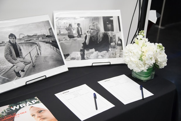Silent auction at TheWrap's Power Women's Breakfast in San Francisco, 2017