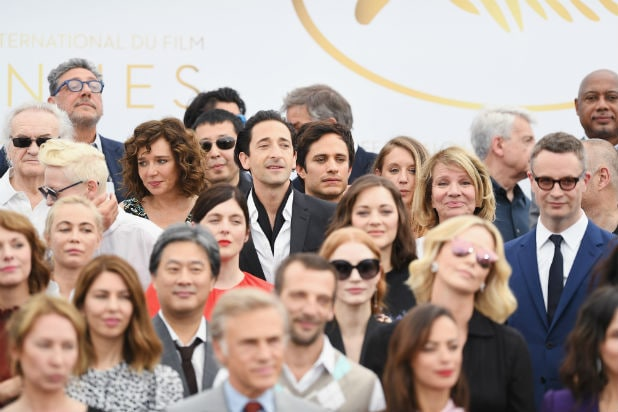 Adrien Brody Cannes 2