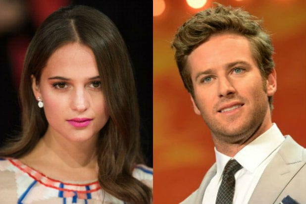 Alicia Vikander Armie Hammer Freak Shift Cannes