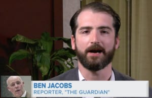 Ben Jacobs, reporter allegedly attacked by Greg Gianforte