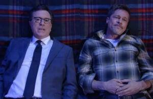 Brad Pitt Stephen Colbert