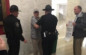dan heyman reporter arrested