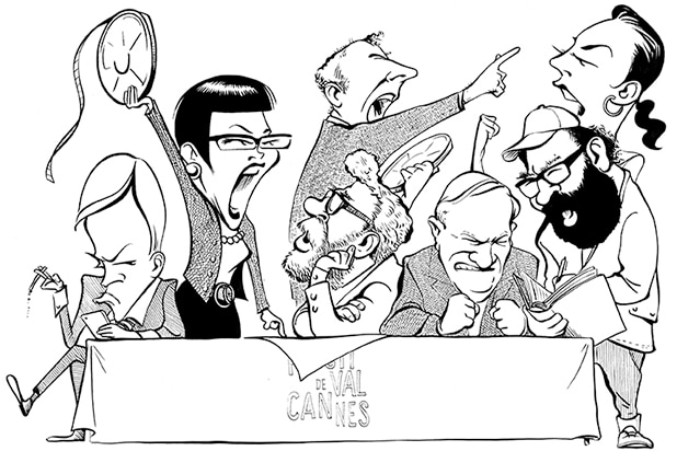 Cannes 2017 The Grandest Of Juries Illustration