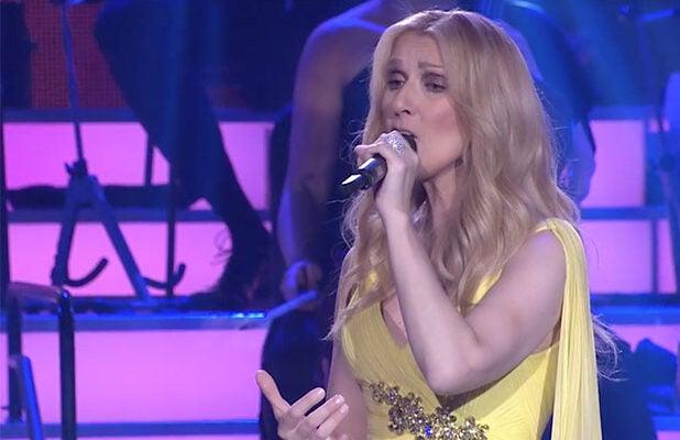 Music super star, Celine Dion strips down for Vogue