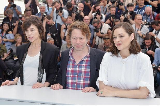 Charlotte Gainsbourg Arnaud Desplechin Marion Cotillard Ismaels Ghosts Cannes