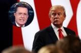 Trump and Colbert