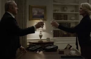 Frank and Clair Underwood House of Cards