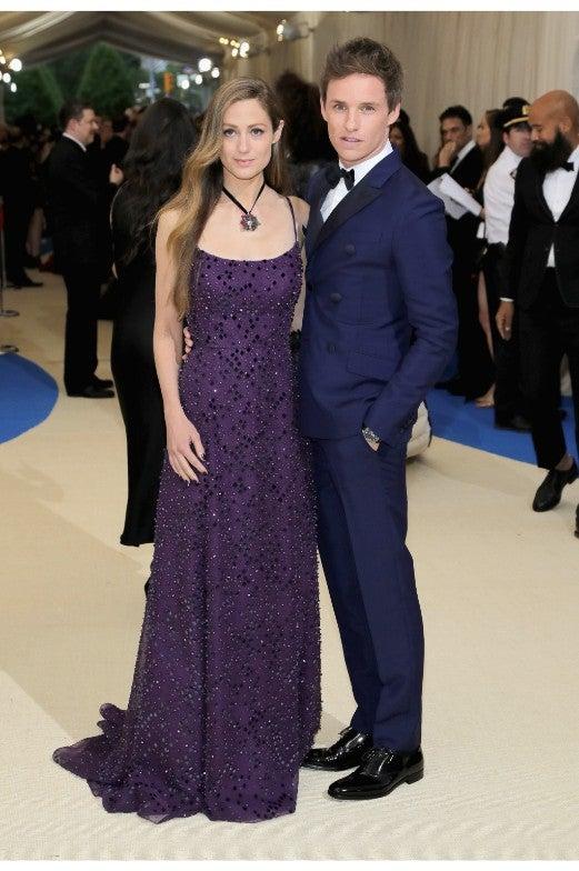 Eddie Redmayne Wife Met Gala