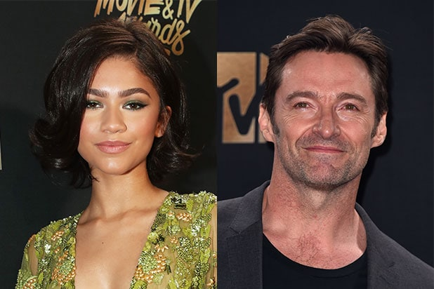 Zendaya Hugh Jackman Greatest Showman