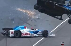 Indy 500 Scott Dixon Crash