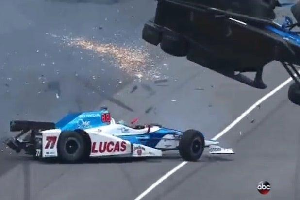 Indy 500 Scott Dixon Crash
