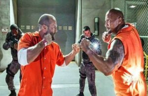 Jason Statham Dwayne Johnson Fate of the Furious
