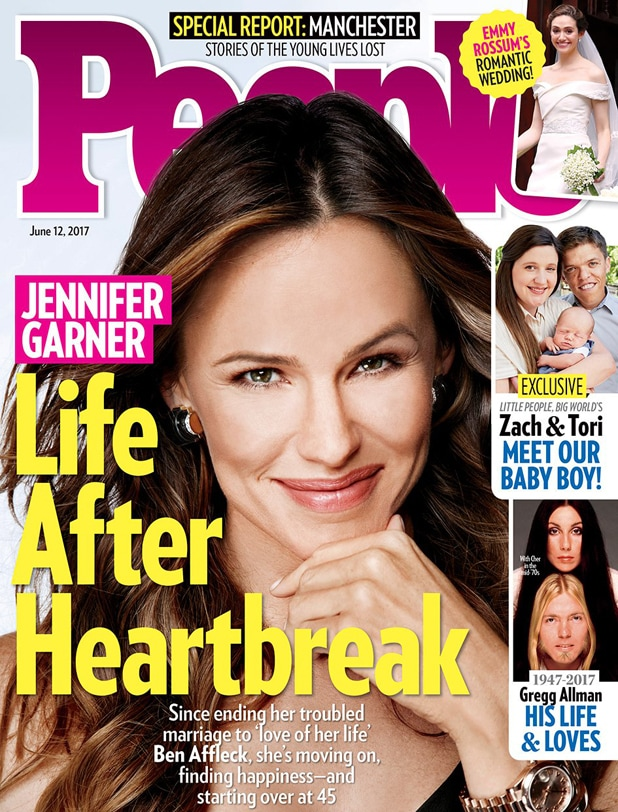Jennifer Garner People Cover