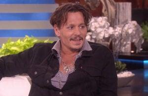 Johnny Depp trump impression
