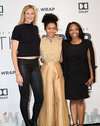 Kerri Walsh Jennings Yara Shahidi and Kendra Bracken-Ferguson Power Women Breakfast San Francisco 2017