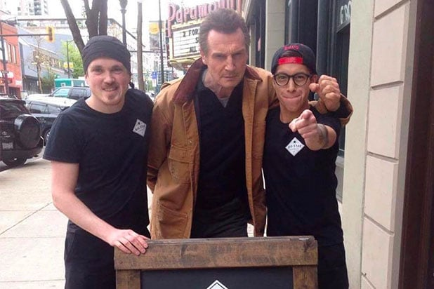 Liam Neeson restaurant